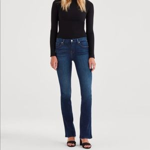 7 For All Mankind Kimmie Bootcut Jeans 27 L0652